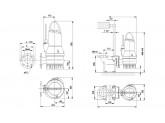 Насос дренажный Grundfos DP10.65.26.EX.2.50B