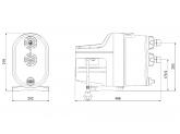Насосная установка самовсасывающая Grundfos SCALA1 3-45