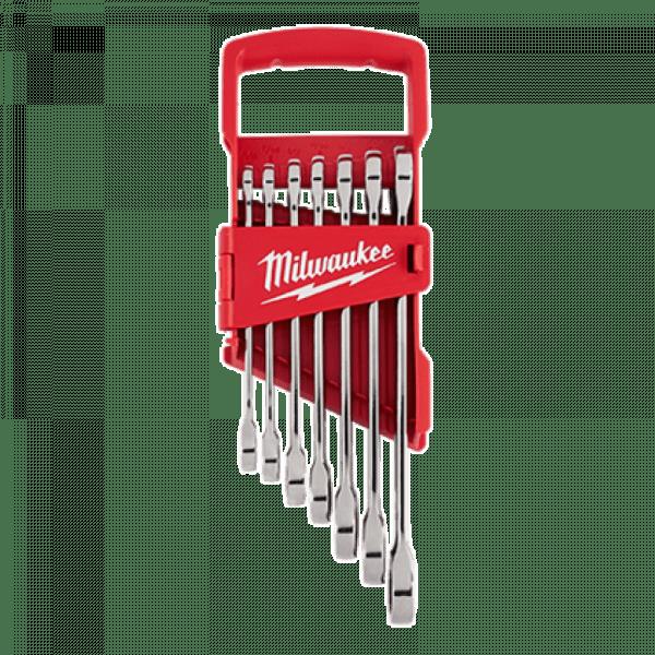 Набор гаечных ключей Milwaukee Max Bite с трещоткой (7шт)
