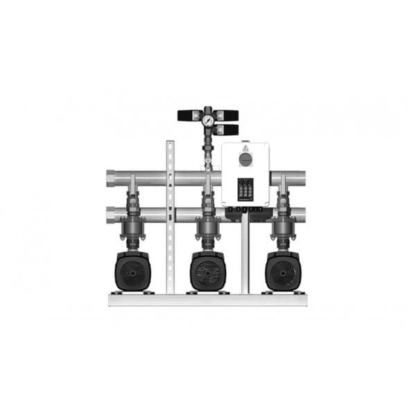 Установка повышения давления Grundfos HYDRO MULTI-S 2 CM10-4