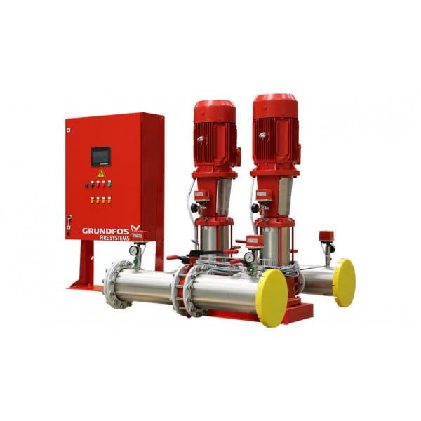 Установка повышения давления Grundfos HYDRO MX 1/1 2CR15-5