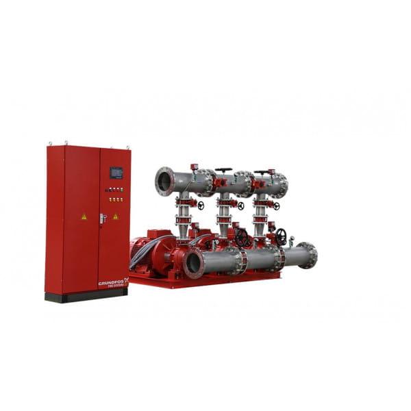Установка повышения давления Grundfos HYDRO MX 2/1 NB80-160/151