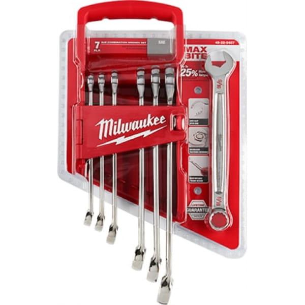 Набор дюймовых ключей Milwaukee (7 шт)